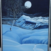 Vinterharens paradis