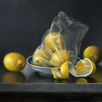 Stillife with lemons 40x35