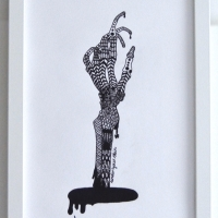 Under your skin 1 (finns även som modern litografi)