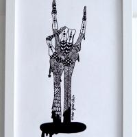 Under your skin 2 (finns även som modern litografi)