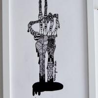Under your skin 3 (finns även som modern litografi)