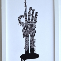 Under your skin 5 (finns även som modern litografi)