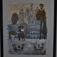 Romantik vid bron