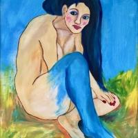 Blå ben