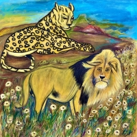 Vaksam lejon