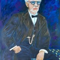 Ett porträtt av konstnärens man