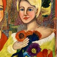 Ett porträtt av konstnärens systerdotter