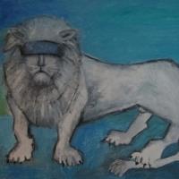 Det ärliga vita lejonet