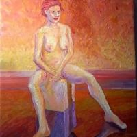 vilande kvinna