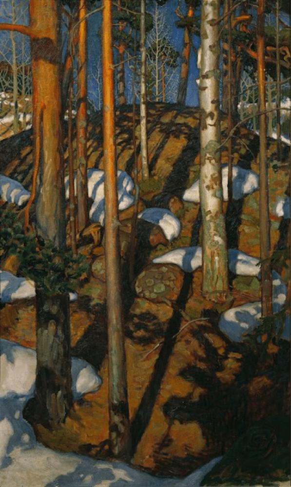Akseli Gallen Kallela. Spring in Kalel